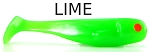Lime Minnow 3.25