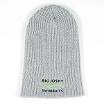 Big Joshy Swimbaits - Grey Lumberjack Slouch  Logo Beanie