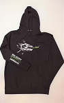Big Joshy Swimbaits - Action Hoodie Black